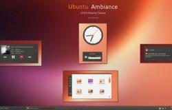 Тема Ambiance для KDE