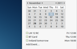 Интеграция Google Календарь в Unity/Gnome Shell