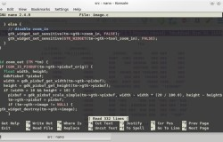 GNU Nano Editor  «дорос» до версии 2.4