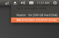 Ejector — индикатор USB в трее