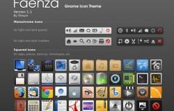 Faenza обновилась до версии 1.1
