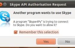 Как добавить Skype в апплет уведомлений Ubuntu