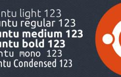 Новые шрифты в Ubuntu