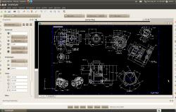 AutoCad для Ubuntu Linux — DraftSight