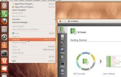 Приложения на базе Qt/QML получат поддержку глобального меню и HUD в Ubuntu 13.04
