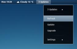 Индикатор обновлений для Gnome Shell