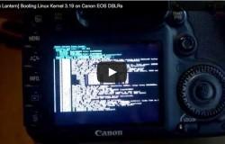 Ядро Linux портировано на зеркалки Canon