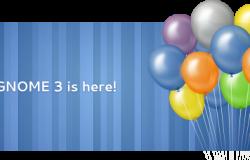 Выход GNOME3, обновление в Ubuntu