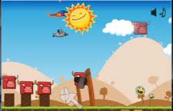 Клон Angry Birds — Angry Animals для Ubuntu