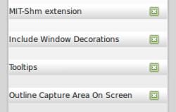 Решение проблемы RecordMyDesktop в среде Cinnamon