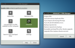 Релиз Y PPA Manager 0.0.8.4