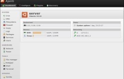 Ajenti — Веб-интерфейс для администратора
