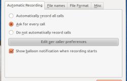 Запись разговора Skype в Ubuntu Linux