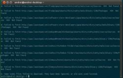 Как избавиться от «404 Not Found» при запуске apt-get update