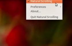 Natural Scrolling из OS X Lion в Ubuntu