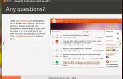 Установочные слайды в Ubuntu 11.10