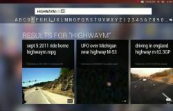 Демонстрация Youtube на Ubuntu TV