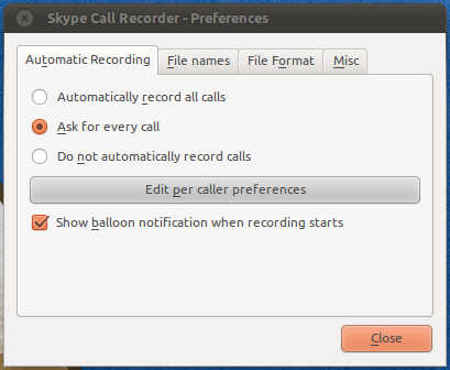 Skype Call Recorder - Запись разговоров в Skype