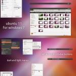Тема Ubuntu Ambiance для Windows 7