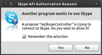 Авторизация API в Skype