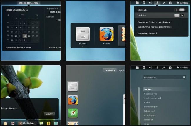 Faience - Иконки для GNOME Shell