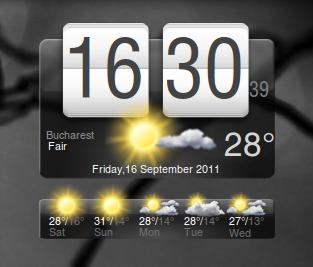 часы с погодой для андроид - фото 9