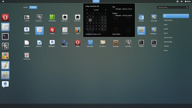 Zukini - Светлая тема для Ubuntu