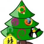 Новогодний, линуксовый и позитивный пост