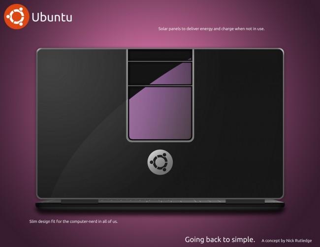 Концепт Ubuntu-ноутбука