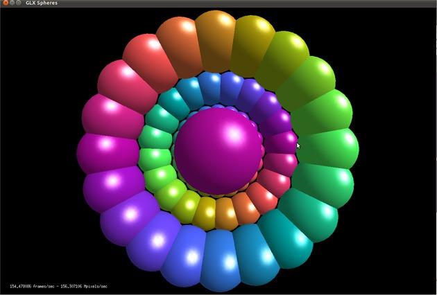 GLX Spheres