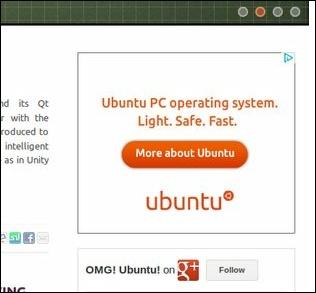 Реклама Ubuntu в AdSense