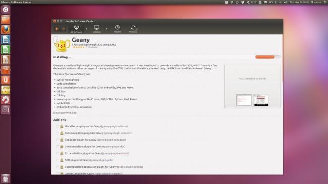 Центр приложений Ubuntu