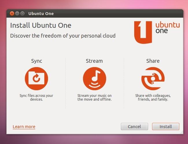 Переработан клиент Ubuntu One