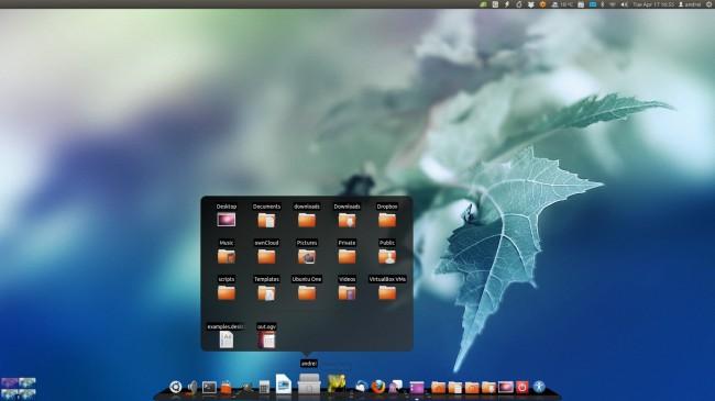 Cairo-Dock 3.0 и Unity 2D