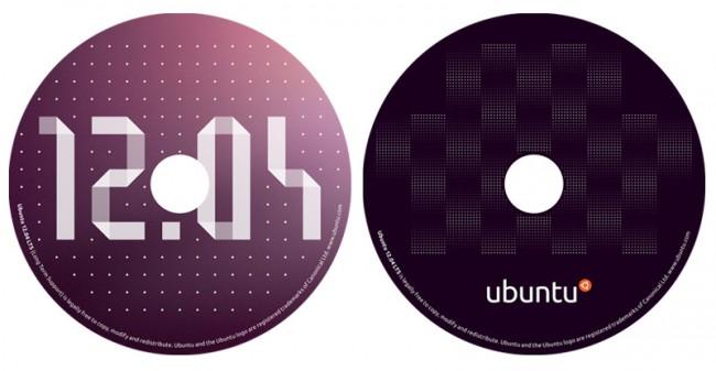 Обложка для диска Ubuntu 12.04