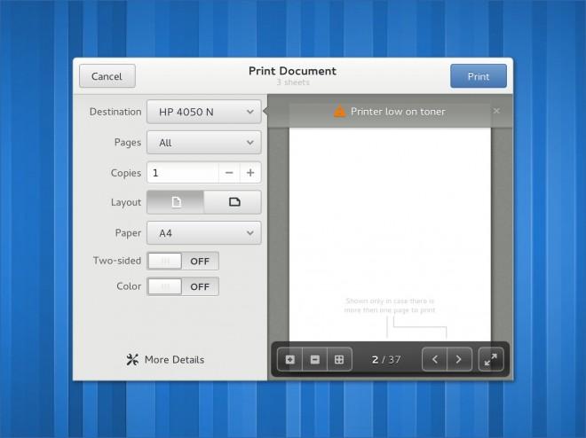 Обзор новых элементов дизайна GNOME