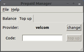 Prepaid Manager