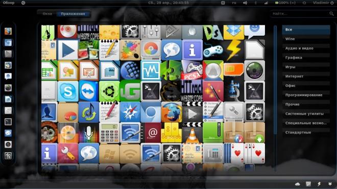 Темы для GNOME Shell 3.4