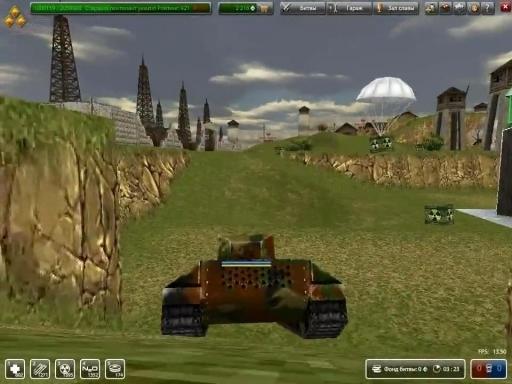 Обзор браузерной игры танки онлайн