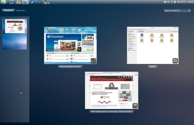 Linux Deepin 12.06