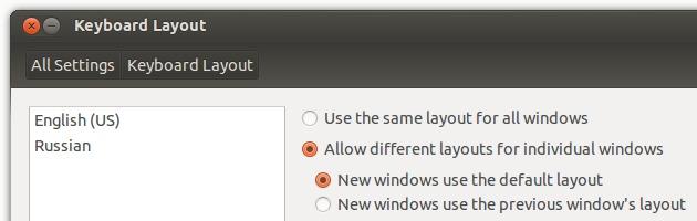 Старый баг Ubuntu с переключением раскладок клавиатуры