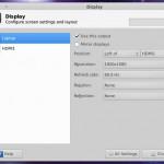 Работа в Xfce с несколькими мониторами
