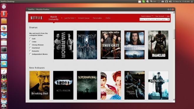 Установка клиента Netflix в Ubuntu
