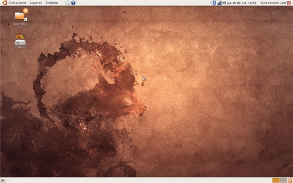 Ubuntu 8.10 Intrepid Ibex