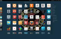 УкрашениеUbuntu 15.04 при помощииконок от Nitrux и темNumix