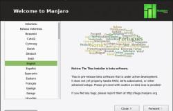 Обновленый установщик  Manjaro Linux 0.8.13 поддерживает LUKS  шифрование