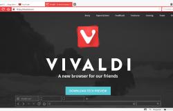 Веб браузер Vivaldi был обновлен и дополнен некоторыми опциями