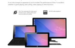 11.6 дюймовый HD планшет под управлением Ubuntu Kylin Linux