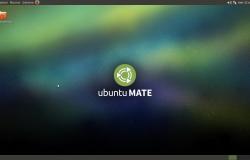 Рабочий стол Ubuntu Mate